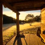 Sunrise at Moonbah Hut