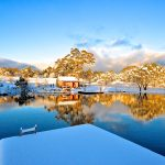 First Day Of Winter At Moonbah Lake Hut